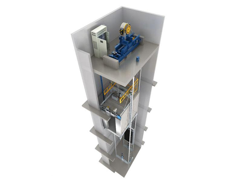 电梯迫降中间继电器接线图
